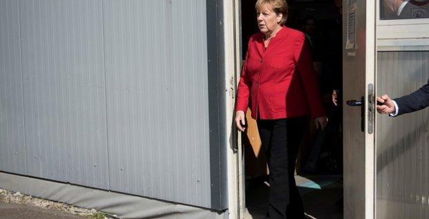 Des erreurs dans la crise des refugies pour merkel