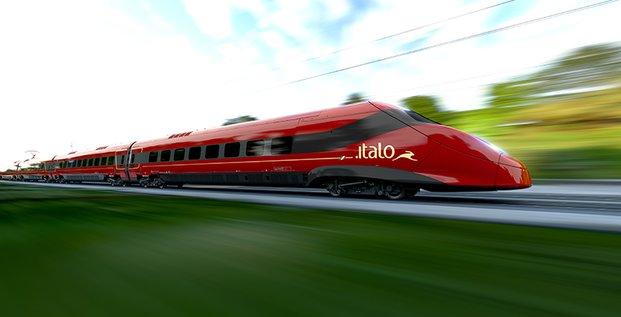 Pendolino, Alstom, construction de train, compagnies ferroviaire, chemin de fer, réseau ferré, Italie, NTV opérateur privé italien, locomotive, TGV pendulaire,