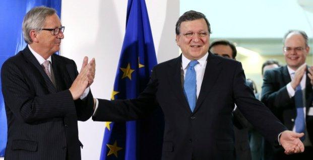 Barroso et Juncker