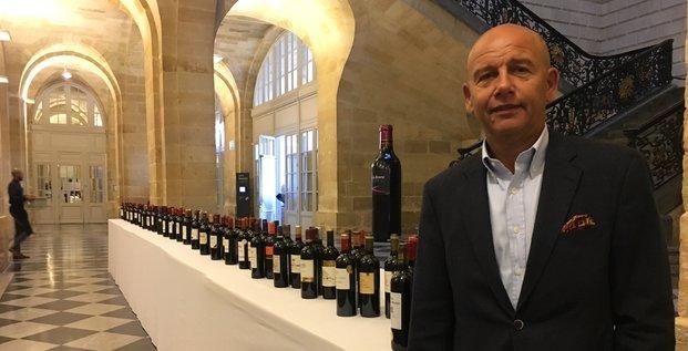 Olivier Cuvelier, président de l'Alliance des Crus bourgeois du Médoc