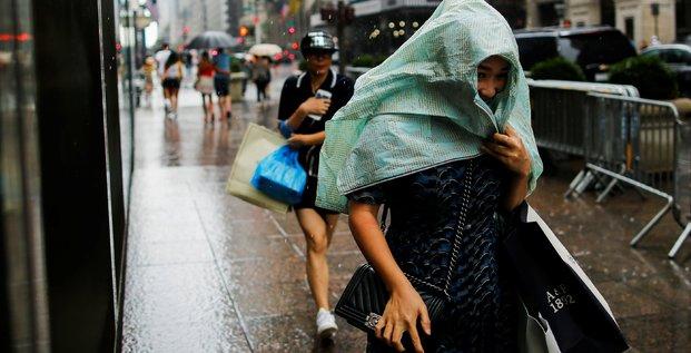 New York, smart city, ville, résilience, Manhattan, pluie, orage,