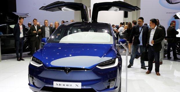 Tesla, Model X, automobile, électrique,