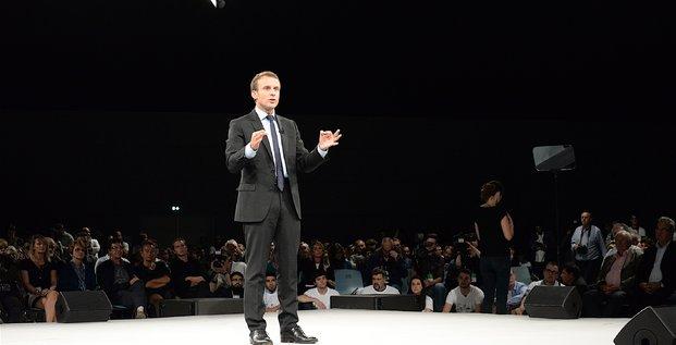Macron, Strasbourg, 20161004