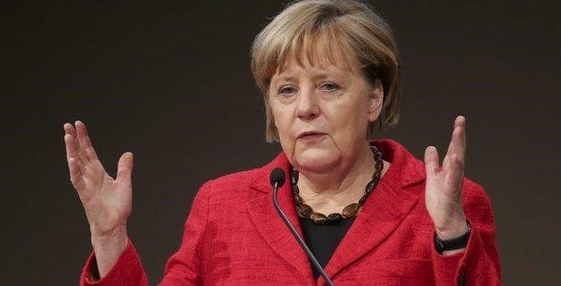 Merkel annonce des baisses d'impots de 6 milliards d'euros
