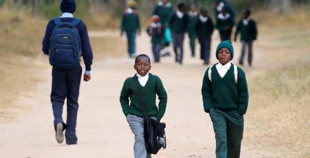 Ecole garçon afrique