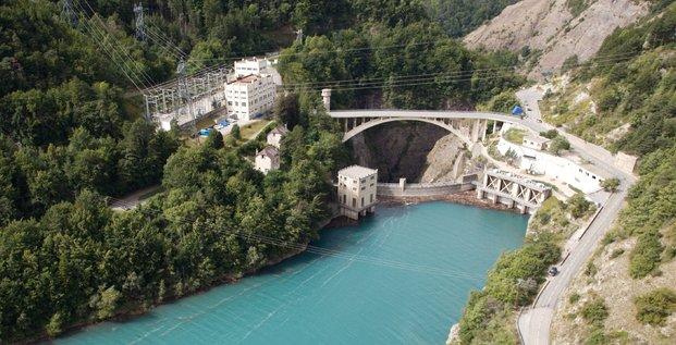 Barrage hyrdaulique de Sautet EDF