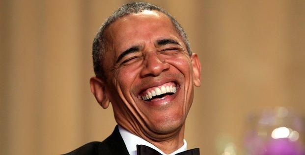 Dernier diner des correspondants de la maison blanche pour obama