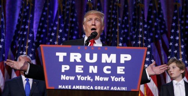 Trump pret a travailler avec tous les pays qui le voudront