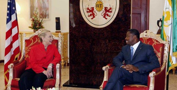 Faure Gnassingbe Clinton