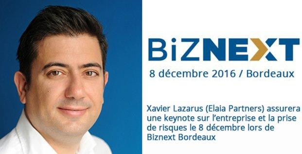 Xavier Lazarus Elaia Partners Biznext
