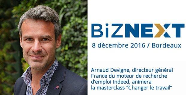 Arnaud Devigne, Indeed, Biznext Bordeaux