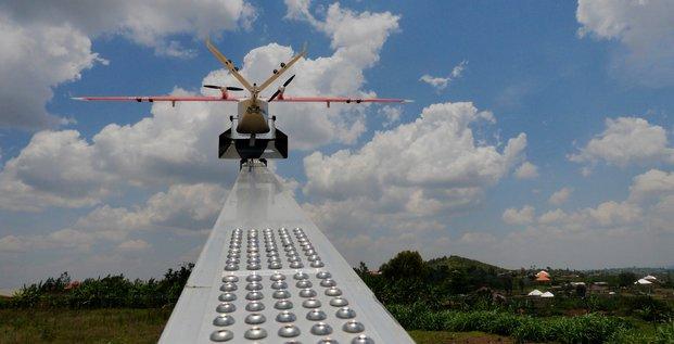 drone rwanda