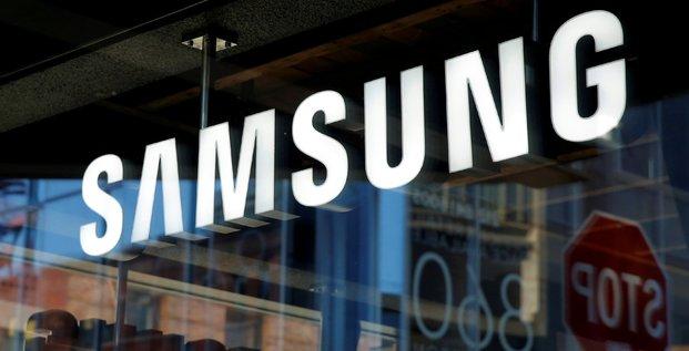 Samsung anticipe 4,8 milliards d'euros de benefice en moins
