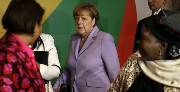 Merkel Afrique