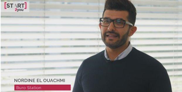 Nordine El Ouachmi, co-fondateur de BuroStation