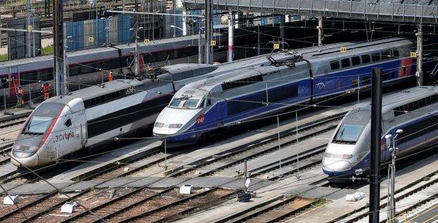 Legere amelioration du trafic a la sncf malgre les greves cgt et sud rail