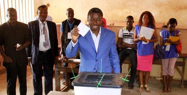 Faure gnassingbe en lice pour un 3e mandat presidentiel au togo