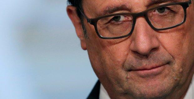 Le foll sur de la canditature de hollande a la presidentielle