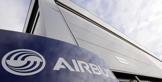 Airbus, dans le rouge a la mi-seance
