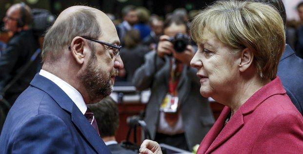 Schulz Merkel