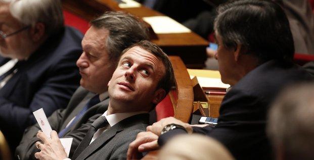 Macron Fillon