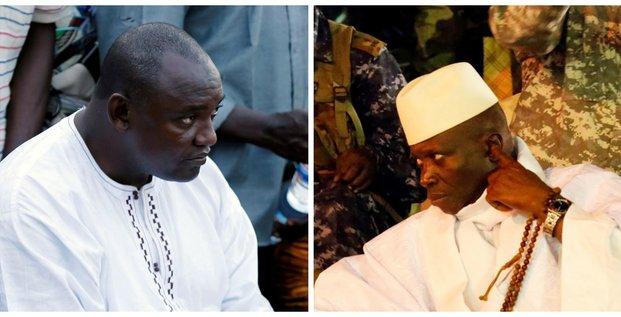 Jammeh Barrow Gambie