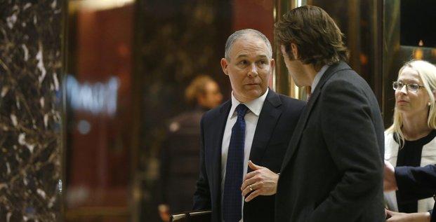 Scott Pruitt EPA Agence Environnement