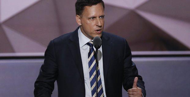 Peter Thiel, co-fondateur de PayPal (silicon valley)