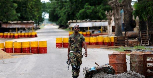 Soldat nigérian