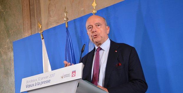 Alain Juppé, maire de Bordeaux, voeux 2017