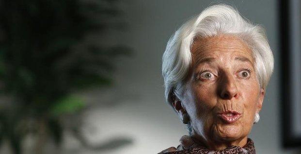 Le fmi devrait revoir sa prevision de croissance mondiale