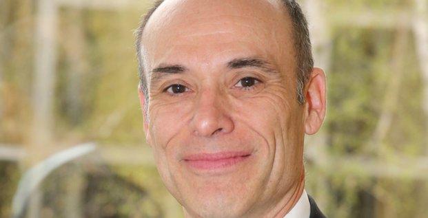 Patrcik Désiré, directeur général d'Aerospace Valley