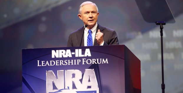 Jeff Sessions, Justice, Trump, Etats-Unis, DoJ,
