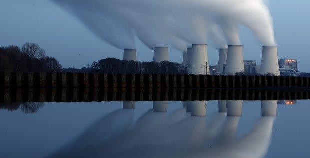 Allemagne, centrale thermique, charbon, Cottbus, 2009,
