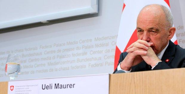 Ueli Maurer ministre des finances suisse