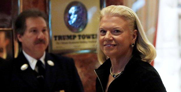 Ginni Rometty, PDG d'IBM, justifie son soutien à Trump (