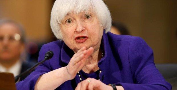 Yellen redit que la fed est prete pour une hausse des taux