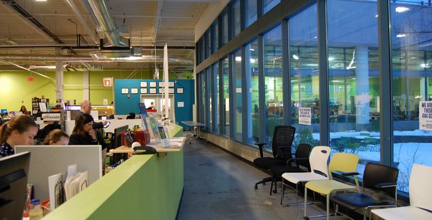 Greentown Labs in Somerville