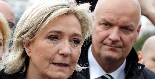 Marine Le Pen Thierry Legier