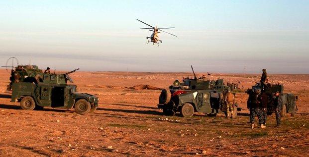 Debut de l'offensive terrestre pour reprendre mossoul-ouest