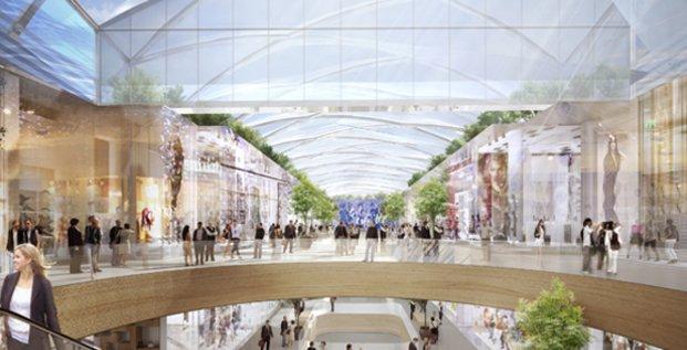 Projet de rénovation du centre commercial Polygone à Montpellier (février 2017)
