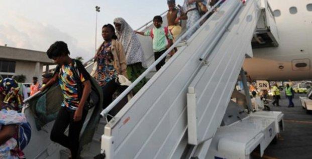 Africains expulsés