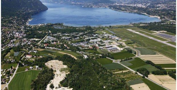 Vue aérienne Savoie Technolac