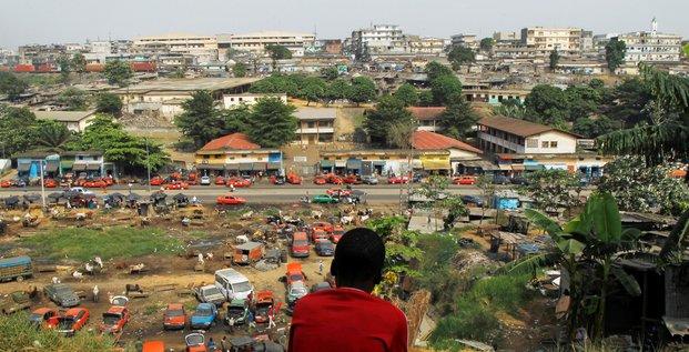 Côte d'Ivoire Abidjan enfant