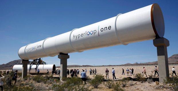 Hyperloop One, Train, Elon Musk