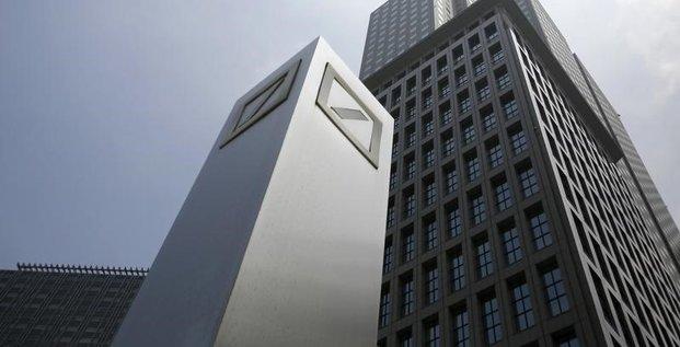 Deutsche bank soutenu par ses principaux actionnaires