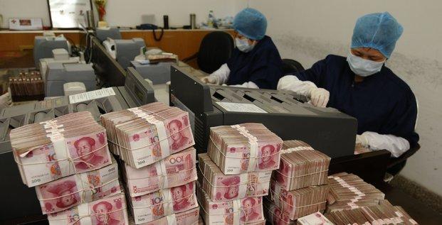 Yuan argent Chine