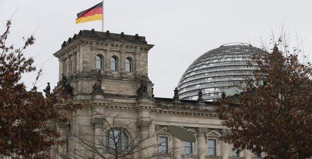 Acceleration de la croissance allemande au 1er trimestre