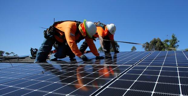 Etats-Unis panneaux solaires