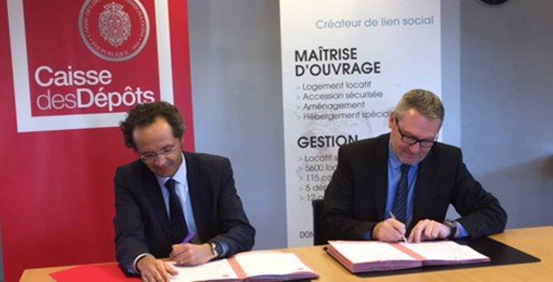 FDI Habitat et Caisse des dépôts Occitanie, le 28 mars 2017